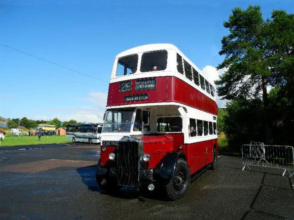 Автобус Шотландия