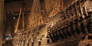 Корабль-музей Васа Стокгольм Швеция