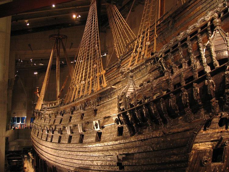 Корабль-музей Васа Стокгольм
