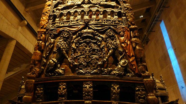 Музей-корабль Ваза корма