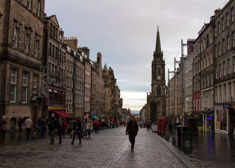 Королевская миля Эдинбург