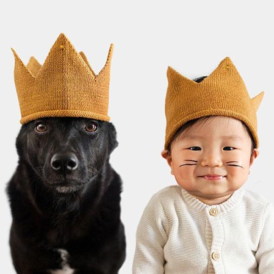 мальчик и собака короли