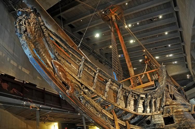 Музей-корабль Ваза нос