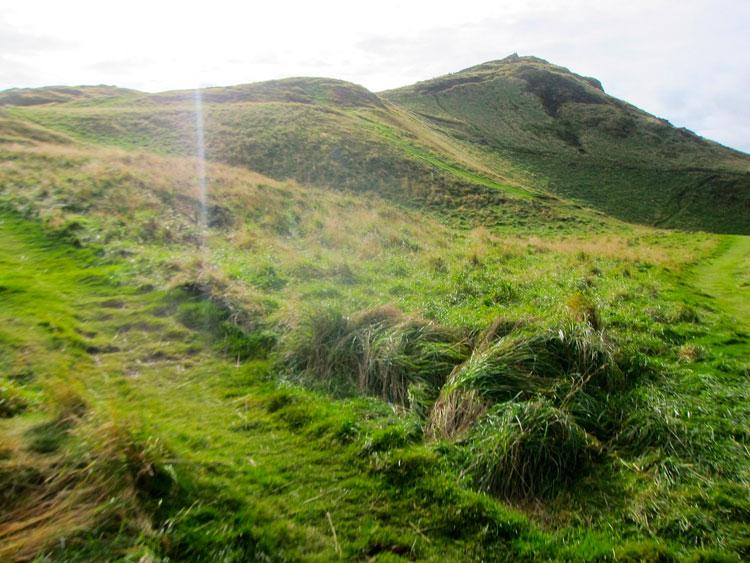 подъём на гору Трон Артура