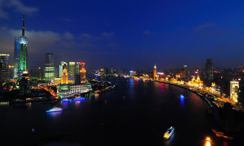 Река Янцзы в Китае