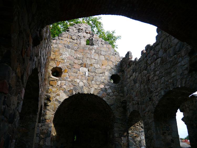 Сигтуна разрушенное здание