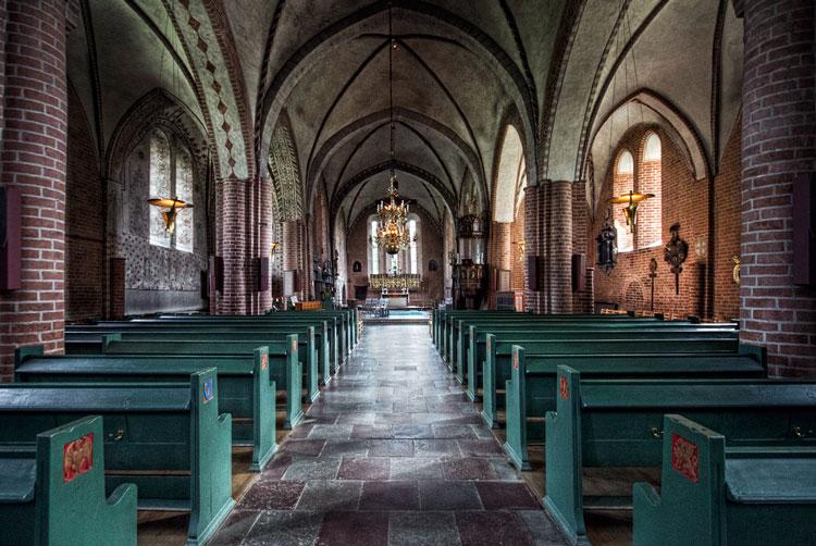 Сигтуна старая церковь