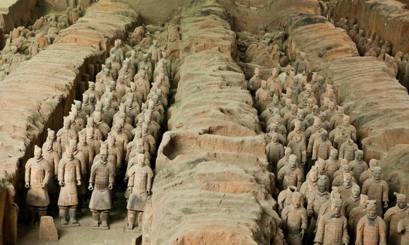 Терракотовая армия Китай