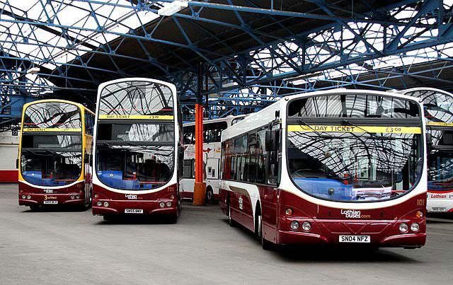 транспорт Шотландия