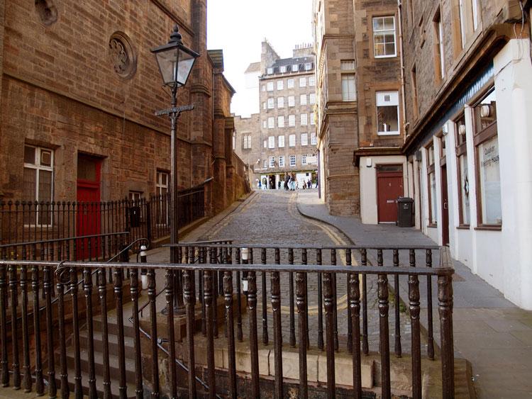 улочки Эдинбурга