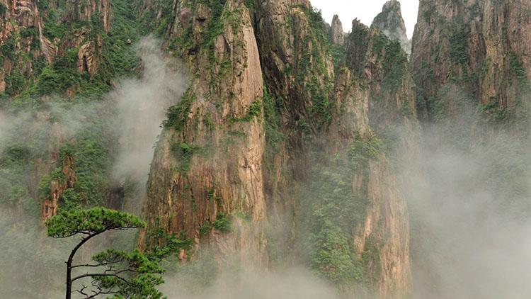 Жёлтые горы Китай