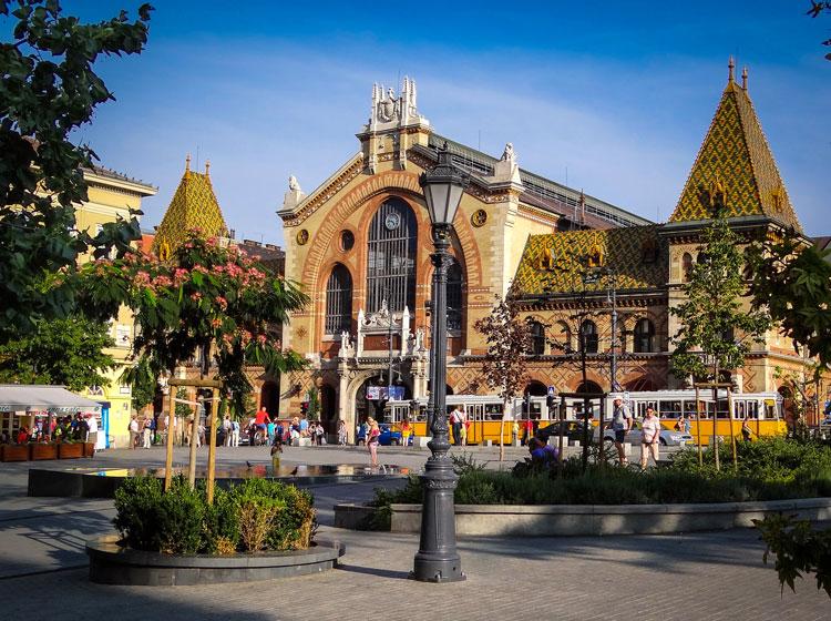 Будапешт рынок