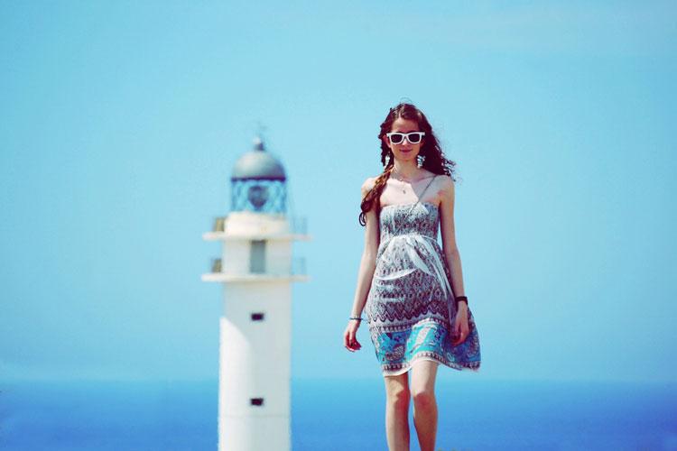 девушка турист