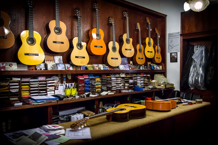 Гитара Испания