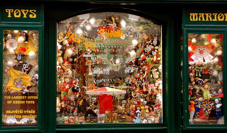 игрушки в Праге