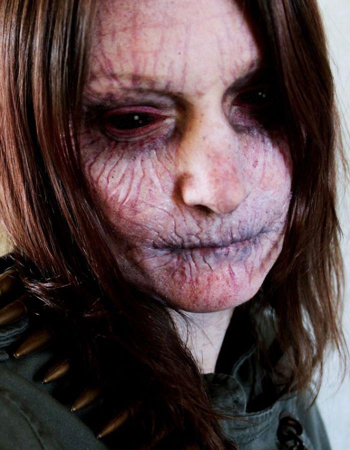 какой макияж на хэллоуин