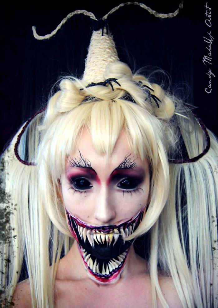 какой сделать макияж на Хэллоуин