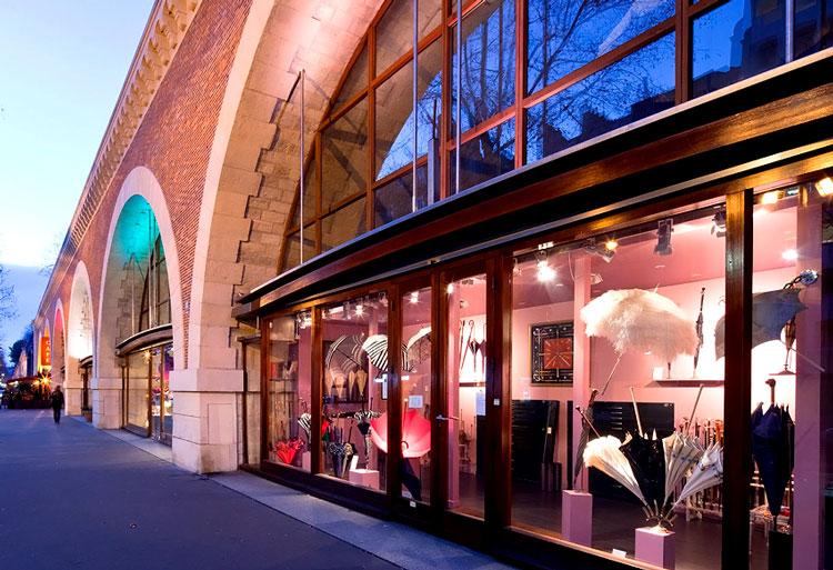 магазины парижа фото