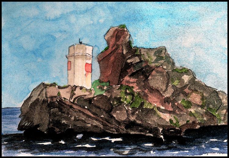 маяк картина