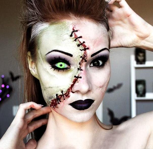 макияж Хэллоуин
