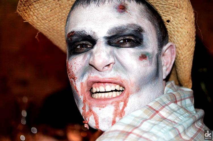 макияж для парней на хэллоуин
