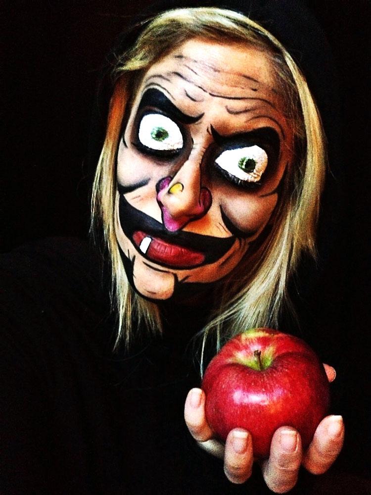 макияж ведьма на хэллоуин фото