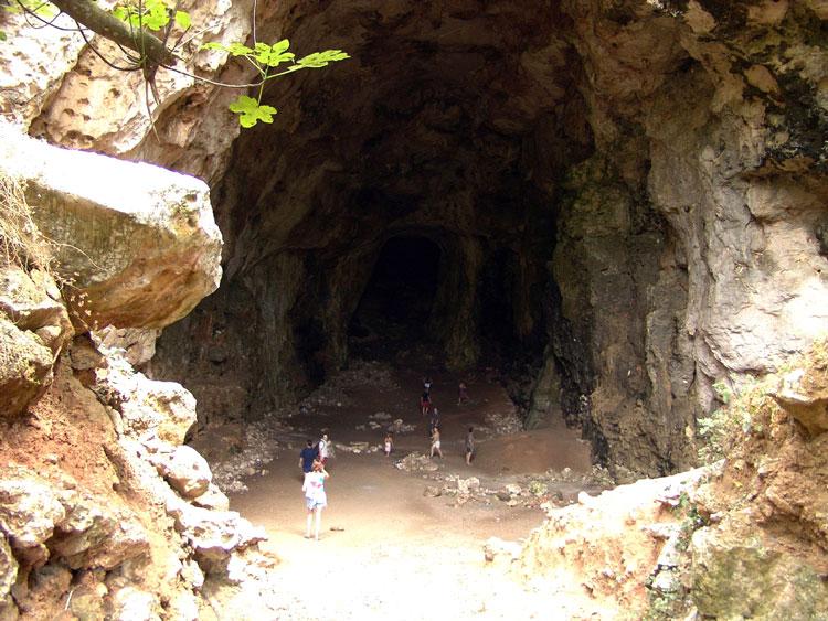 пещера голубей