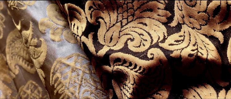 плотная шёлковая ткань