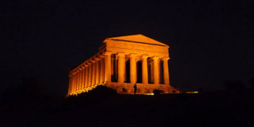 сицилия храм