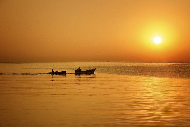 сицилия море