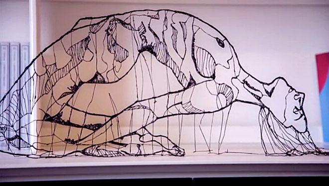 рисунки 3д ручкой