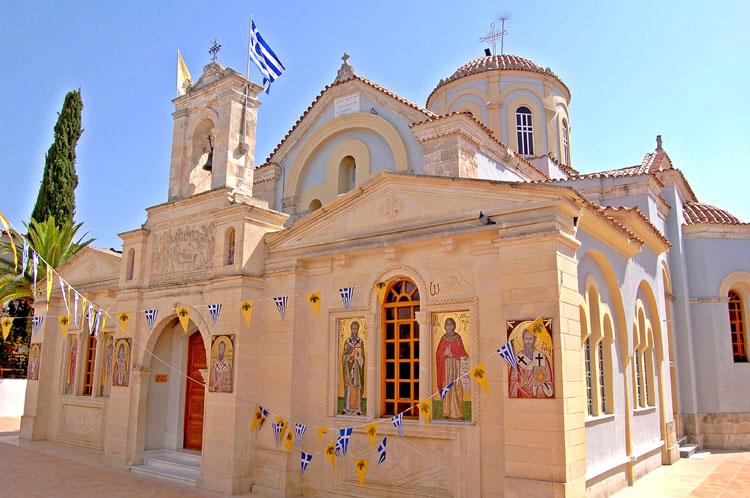 церковь крит