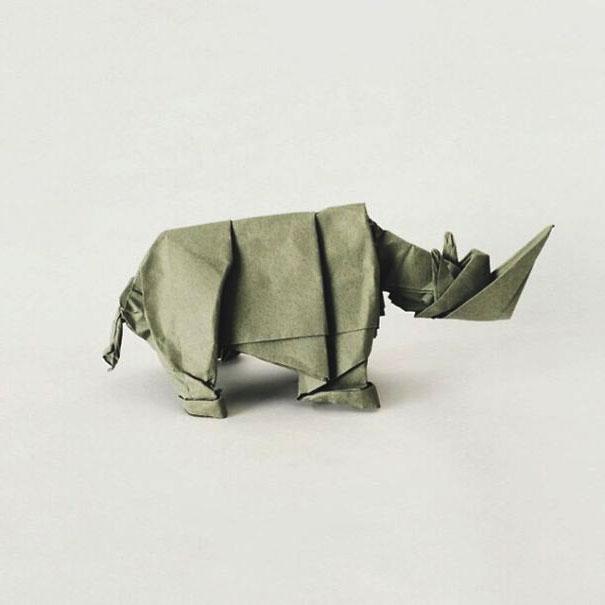 интересное оригами