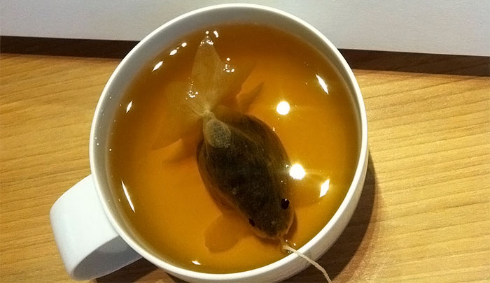 красивый чай