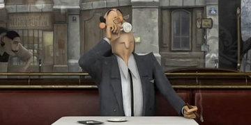 мультфильм французский кофе