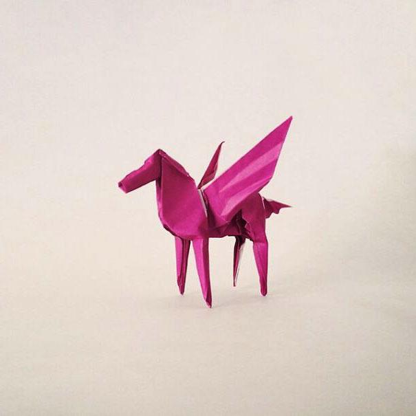 модели оригами фото
