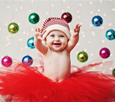 первый новый год ребёнка