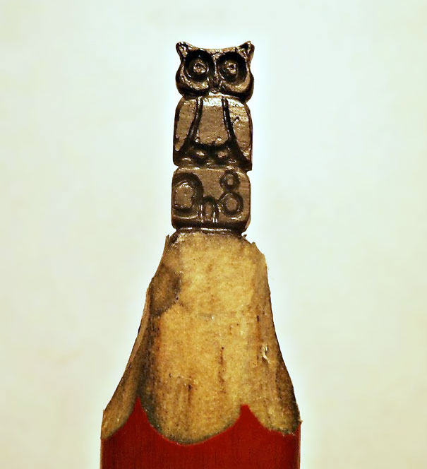 поделки из карандаша
