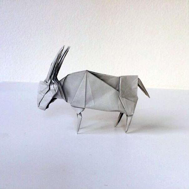оригами животные фото