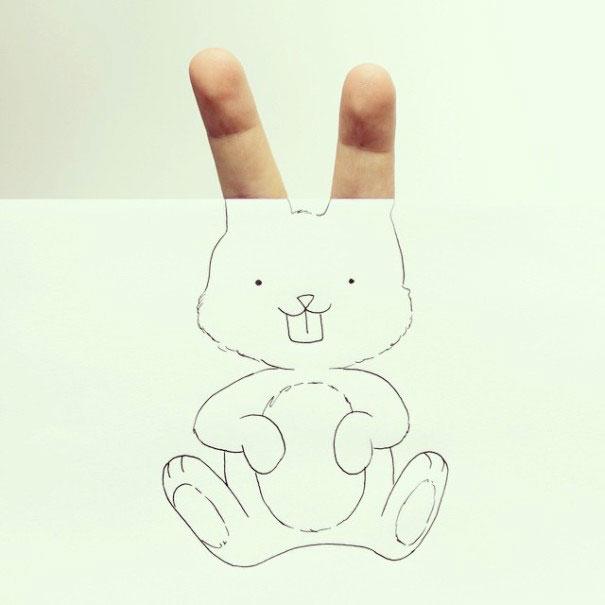 милые легкие рисунки карандашом