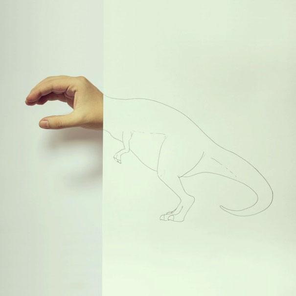 легкие необычные рисунки