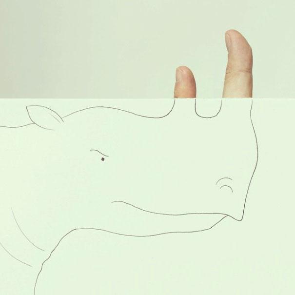 рисунки карандашом прикольные легкие