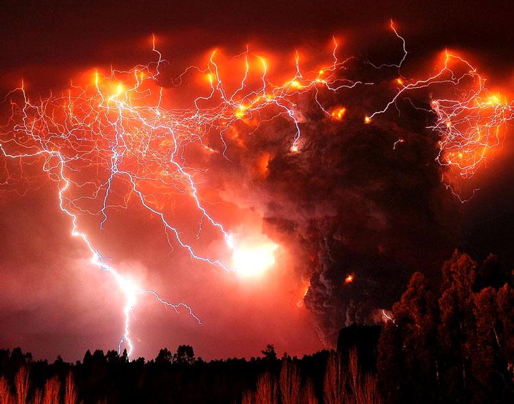 вулкан молнии