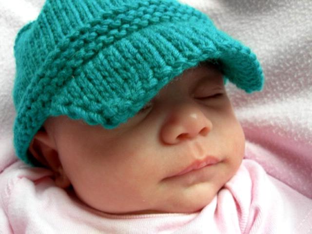 вязаные детские шапки фото