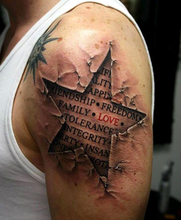 3д татуировки