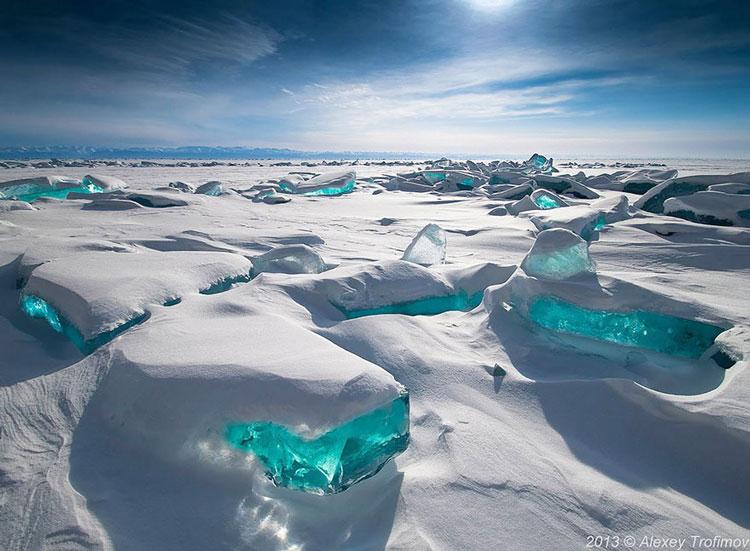 Байкал зимой фото