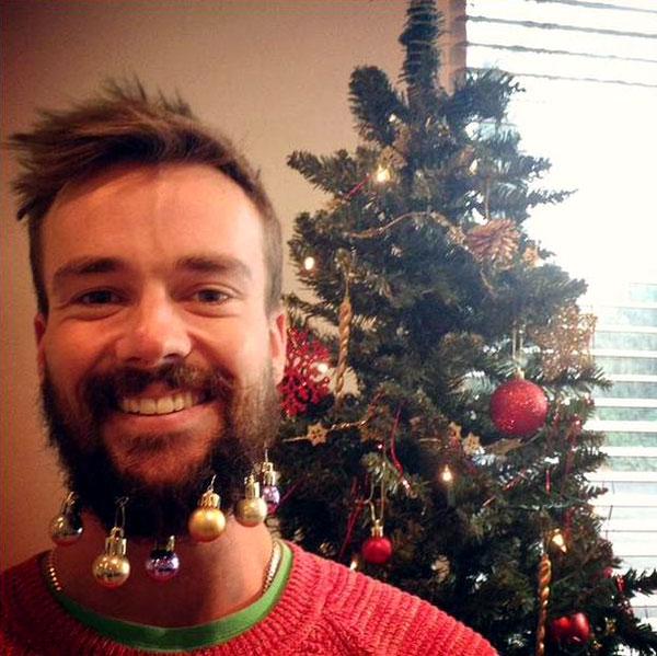 борода новый год