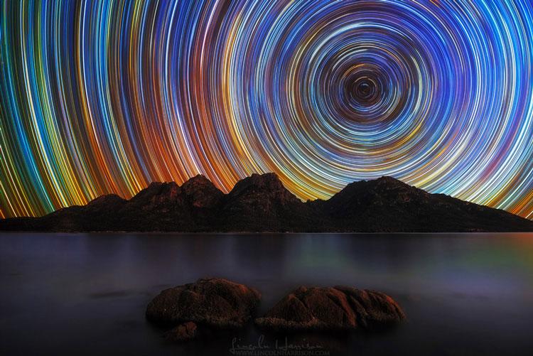 цвета звёзд на небе