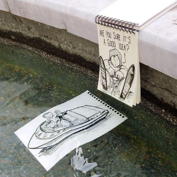 графика рисунки ручкой