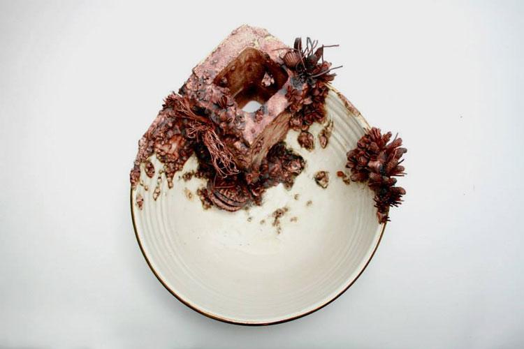 керамическая посуда тарелки
